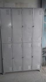 Armario Para Vestiário 8 Portas Grande (usado Reformado)