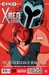 Hq X-men Extra - N25 - Fevereiro - Totalmente Nova Marvel