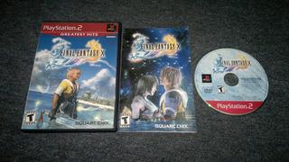 Final Fantasy X Completo Para Play Station 2,excelente Titul