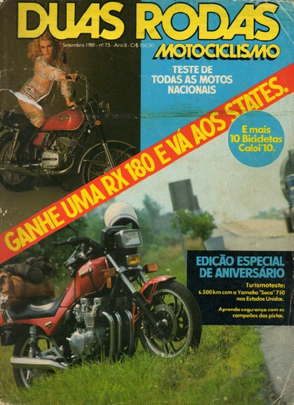 Duas Rodas N°75 Yamaha Seca 750 Teste Todas Motos Nacionais