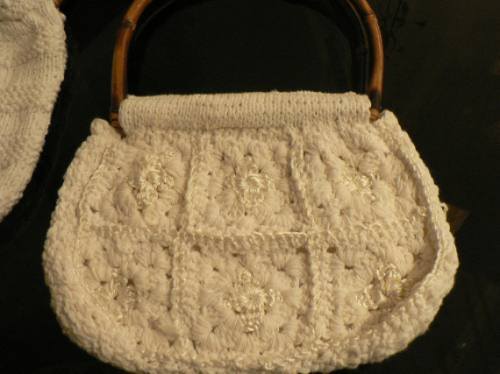 Cartera Artesanal Tejida Al Crochet A Estrenar