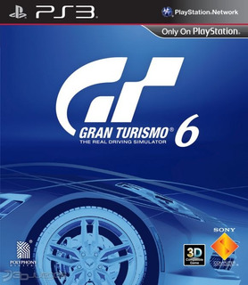 Gran Turismo 6 Juego Ps3 Playstation 3