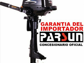 Motor Fuera De Borda Parsun 2,6 Hp 4 T Nuevo - En Caja !!!