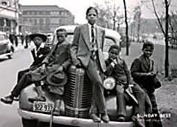Excelente Poster En Blanco Y Negro - Chicago 1941 - 90 X 60