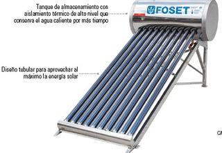 Calentador De Agua Usa Energia Solar Ecologico Ahorro Gas
