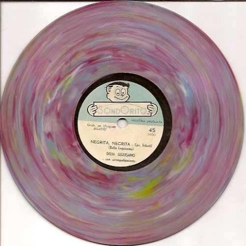 Imagen 1 de 5 de Lp Vinilo Disco Sondorito - Delia Leguisamo (musica) Rareza