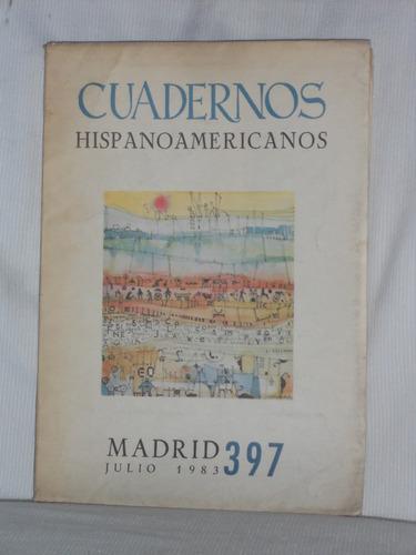 Imagen 1 de 1 de Cuadernos Hispanoamericanos No, 397. Blas Matamoro.