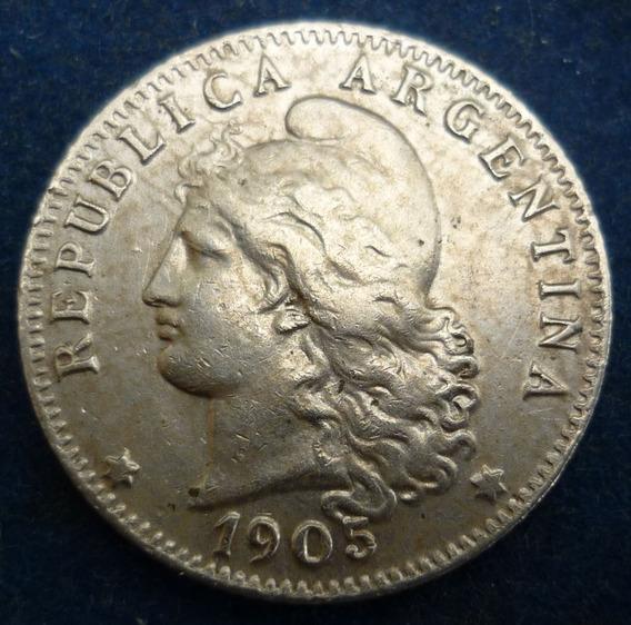 Argentina Moneda 20 Centavos 1905 Casi Sin Circular