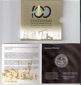 Blister Moneda Petroleo 100º Aniversario ¡no Te La Pierdas!