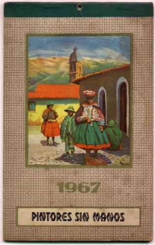 Imagen 1 de 1 de Un Regalo De Cumpleaños Original!!! Almanaque 1967