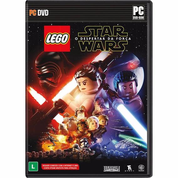 Jogo Mídia Física Lego Star Wars O Despertar Da Força Pra Pc