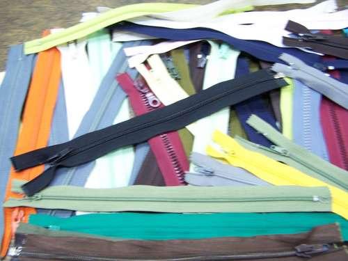 Lote Merceria * 55 Cierres Nº 25 * Varios Colores * Plastico