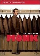 Dvd Monk - 4ª Temporada Completa-lacrado