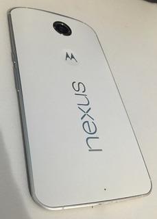 Smartphone Motorola Nexus 6 Tela 5.9 4g Lte 32 Gb Branco