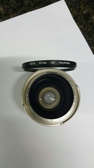 Lente Para Camara Canon Titanio Optica De Cristal