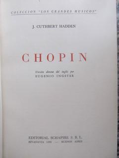 El Arcon Chopin - J. Cuthbert Hadden Grandes Musicos