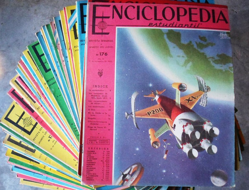 Enciclopedia Estudiantil Codex / Números Discontinuos