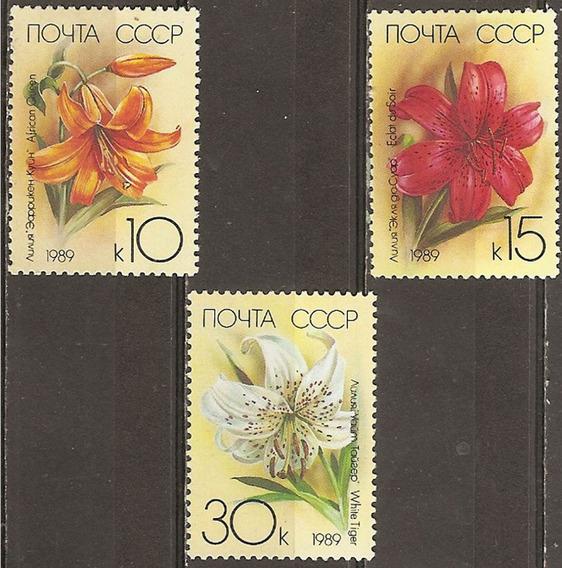 Rusia Flora Mint 3 Valores