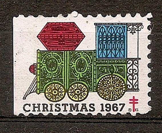 Viñeta Canada Christmas Año 1976 A Todo Color Muy Linda!!