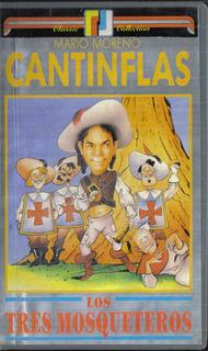 Mario Moreno Cantinflas Los Tres Mosqueteros Vhs
