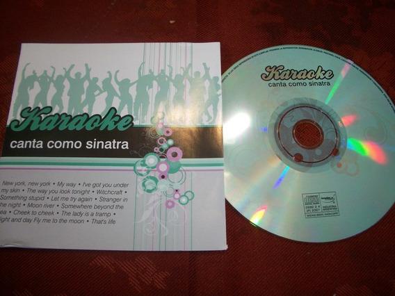 Frank Sinatra * Karaoke* Cd Nuevo!!