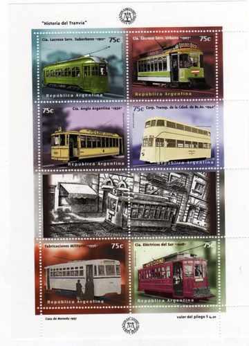 Block 79 100 Años Del Tranvia Electrico Año 1997