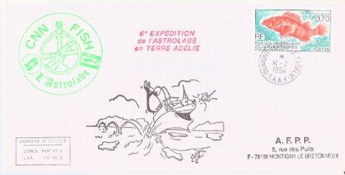 C@- Antartida - Francia - Navio Astrolabio - Oferta Ya !