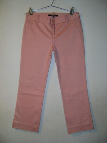 Pantalon Capri Zara Basic Con Spandex Talle 2 (34)