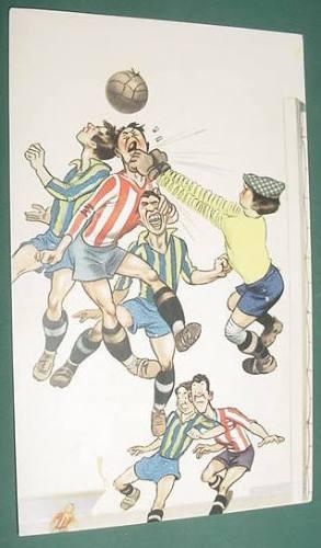 Postal Postcard Futbol Infantil Estudiantes Laplata Peñarol