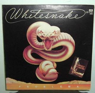 Whitesnake Trouble Problema Vinilo Argentino