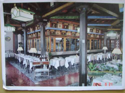Restaurante , Giannino. Milan , Italia. Antigua Postal.