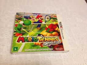 Mario Tennis Open (nintendo 3ds, 2012) Com Luva - Lacrado