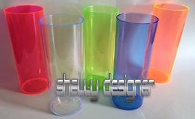 Culote Suporte E Copo P/long Drink Acrílica Laser Sublimação