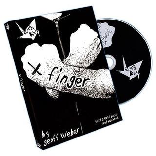 X Finger By Geoff Weber (dvd)