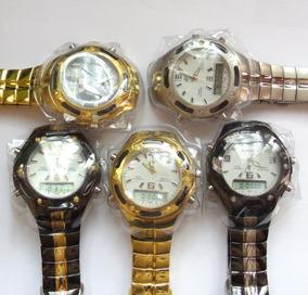 Relógio Masculino Potenzia Digital E Analogic,lote Com 100.
