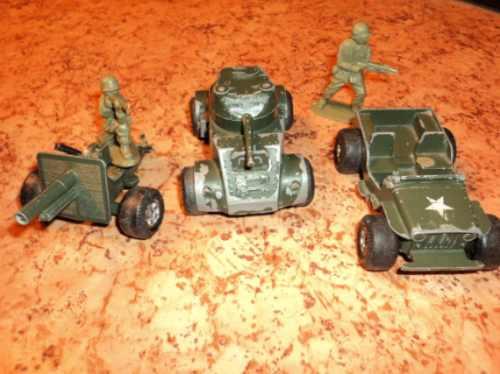 Tanques Americanos Jeep Soldados 2da Guerra Combo Nº2 Colecc