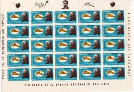 1.000 Estampillas De Paraguay 110 Euros De Catalogo Oferta