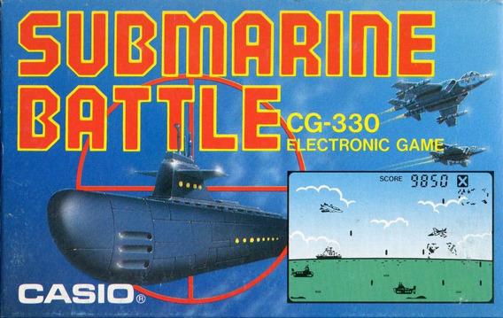 Batalla Submarina Casio Cg-330 Producto Nuevo