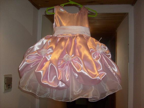 Espectacular Vestido Para La Princesita De La Casa