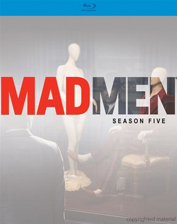 Blu-ray Mad Men Season 5 / Temporada 5