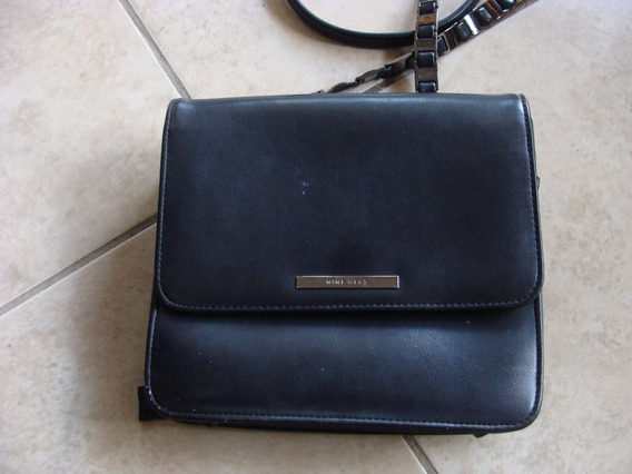 Cartera Negra Nine West 19 X 17,5 Cm