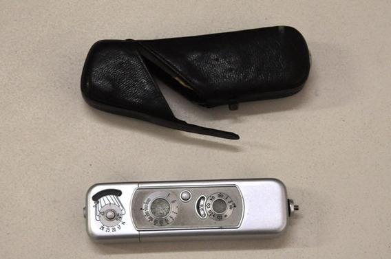 Mini Câmera Minox Espiã. Raridade!