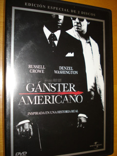 Ganster Americano Edición Especial De 2 Discos