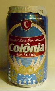 Lata Cerveza S/alcohol Colonia 350 Cc-mirala!!