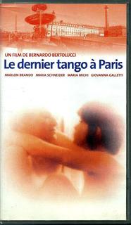 Ultimo Tango En Paris Vhs Made In France