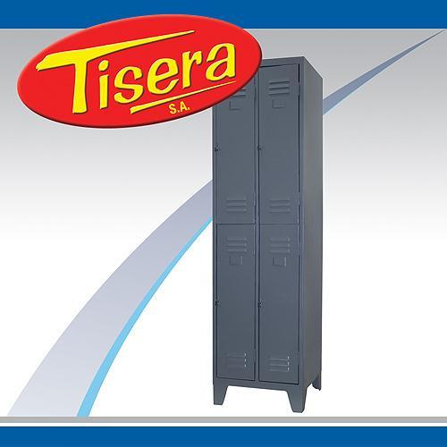Imagen 1 de 2 de Guardarropa Metalico Tisera 4 Puertas Lockers Vestuario Gpc4