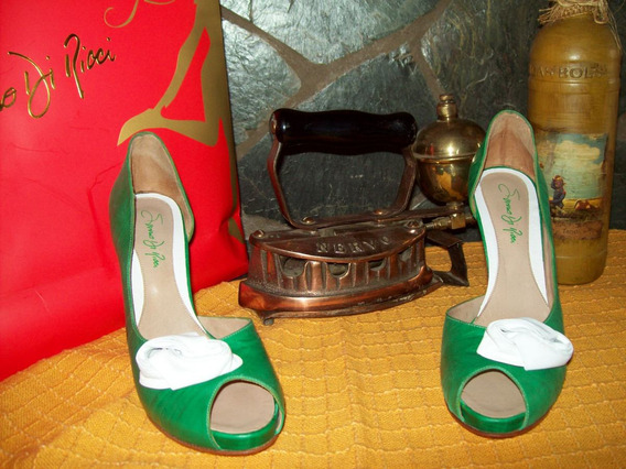 Mas Colores De Moda!!! Zapatos Saverio Di Ricci (nº40)