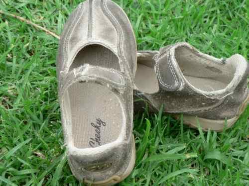 Zapato Nena Niña Chatita Guillermina Gamuza Cheeky Nº 25 26