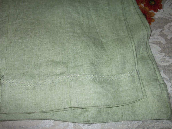 Pantalon Mujer,verde,hecho En China,willi Smith,petite14,800