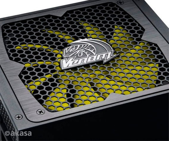 Fonte Akasa 1000w 80 Plus Gold Venom Modular Cd1814